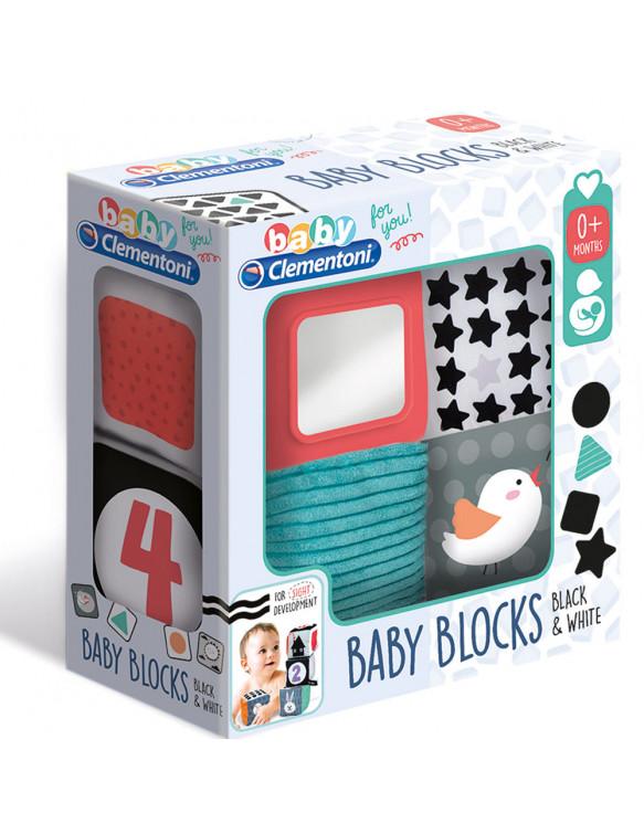 Blocks Primeros Meses Blanco y Negro