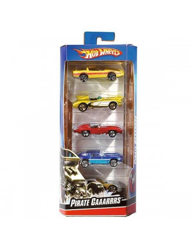 Pack 5 coches Hot Wheels
