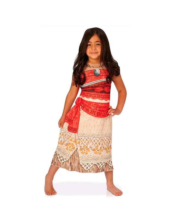 Vaiana Disfraz T-M 5-6 años 883028199020 Para niña