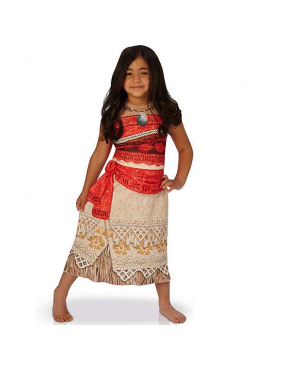 Vaiana Disfraz T-L 7-8 años 883028199037 Para niña