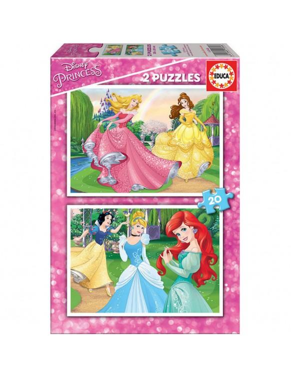 Princesas Puzzle 2x20pz 8412668168466