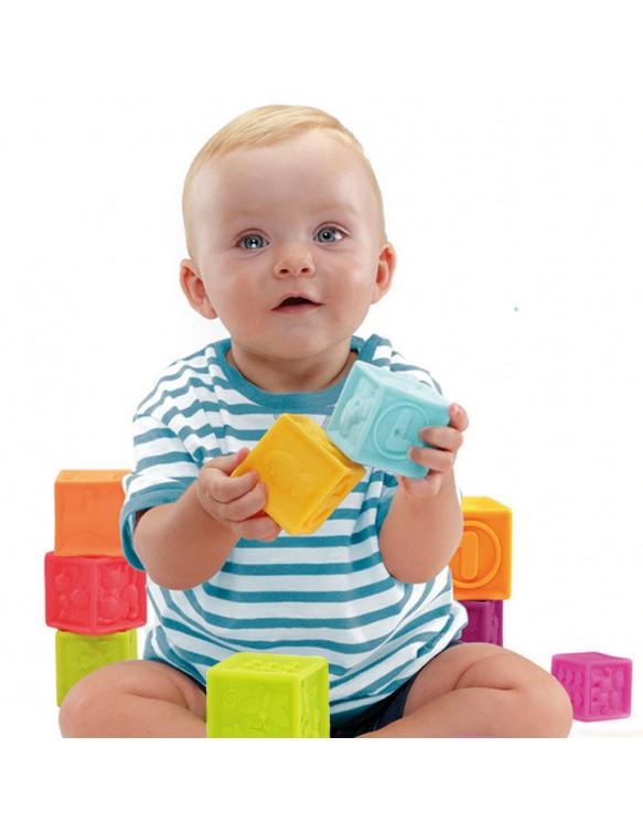 BOLSA CUBOS SENSORIALES 8 PIEZAS 8410963195224 Primera infancia