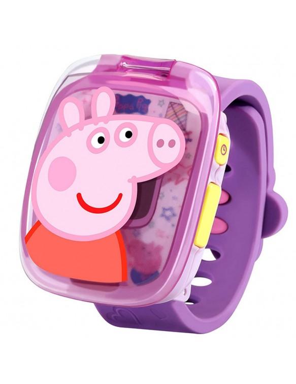 Peppa Pig Reloj Lila