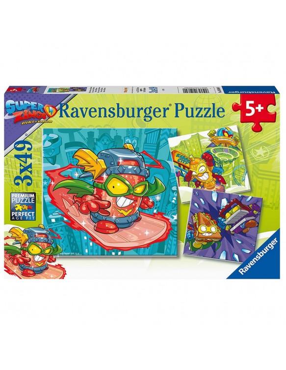 Super Zings Puzzle 3X49pz