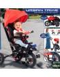 Urban Trike Plegable Rojo