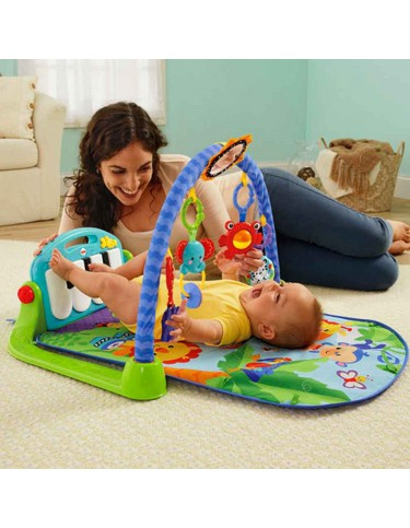 Gimnasio Piano Pataditas Fisher Price 746775381790