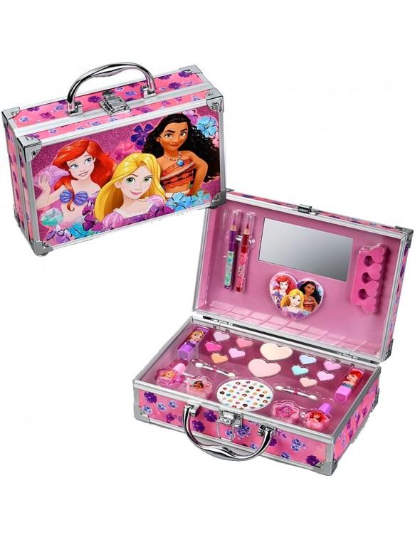 Princesas Maletín Aluminio Maquillaje