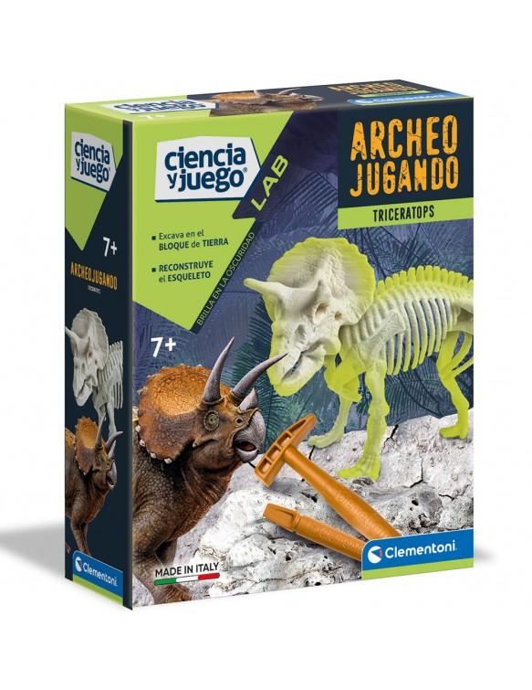 Arqueojugando Triceratops Fluorescente 8005125550319
