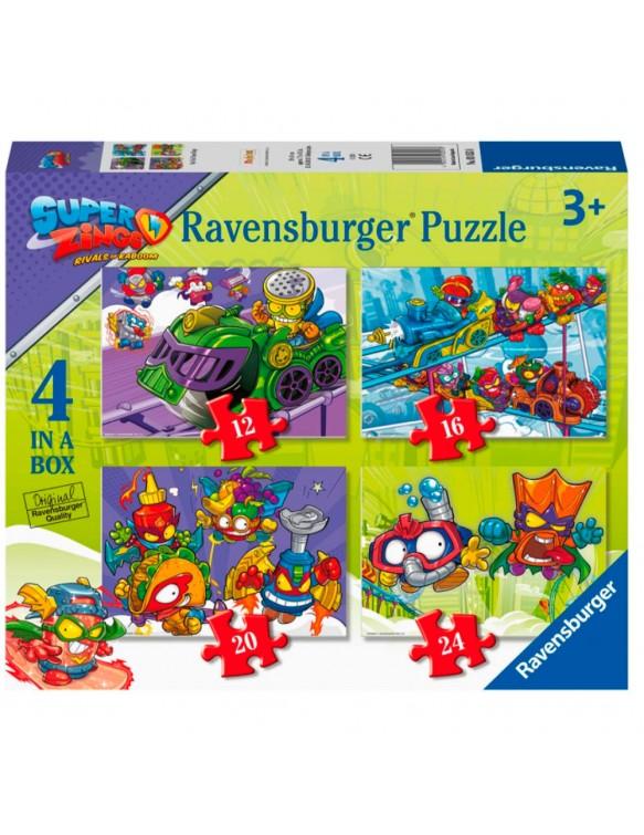 Super Zings Puzzle Progresivo