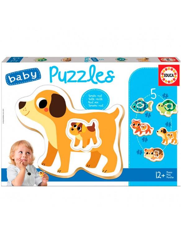 Puzzle Siluetas Animales