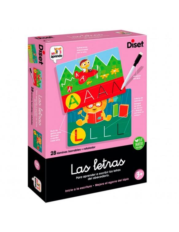 Las Letras Diset 8410446638637 Juegos educativos