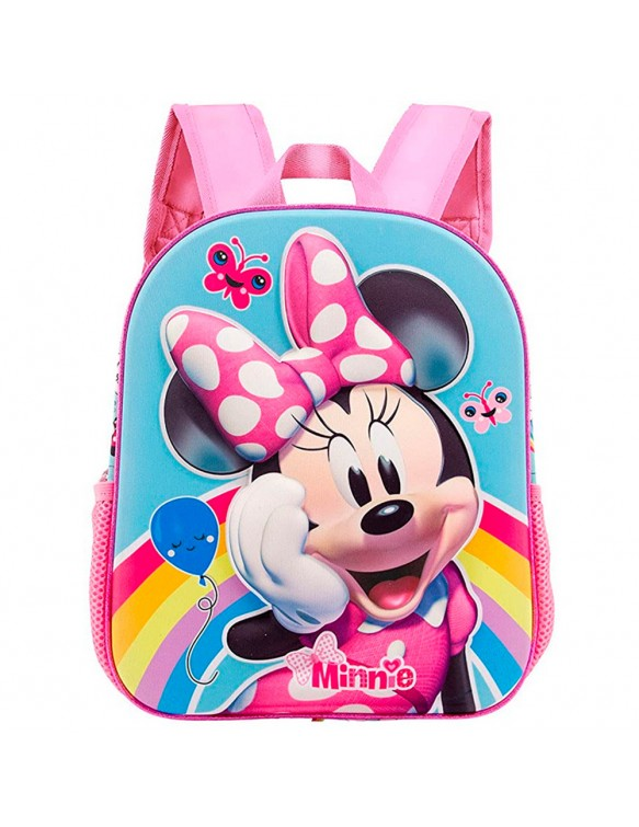 Minnie Mochila 3D Rainbow