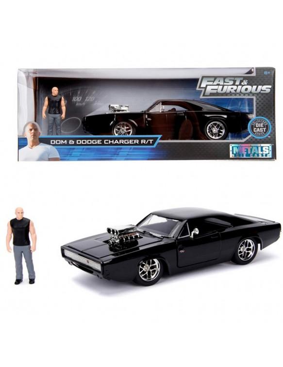 Fast&Furious Dodge con figura Toreto 1:24