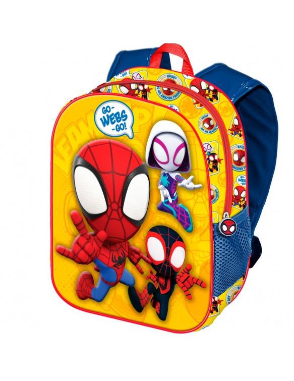 Spiderman Mochila 3D Pequeña