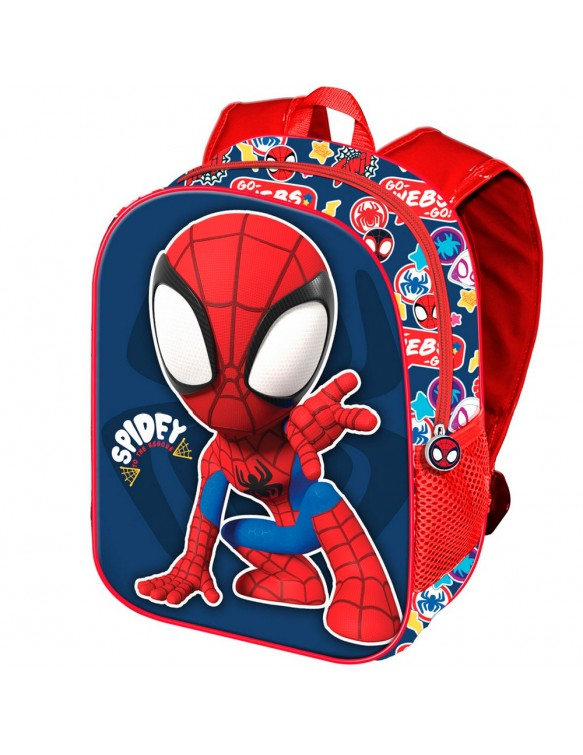 Spiderman Rescue Mochila 3D Pequeña