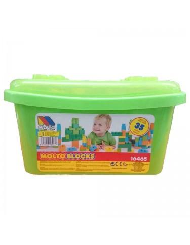 Molto Blocks construcción 35 Piezas 8410963164657
