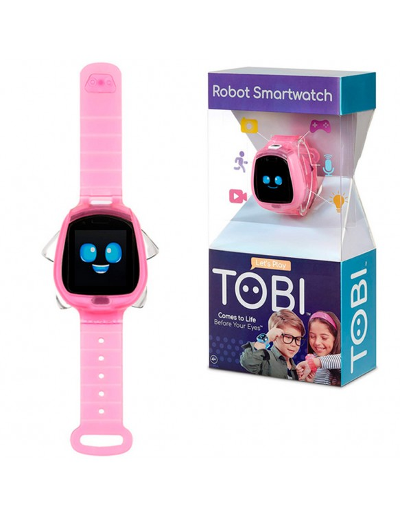 Tobi Robot Smartwatch Rosa