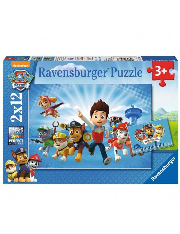 Patrulla Canina Puzzle 2x12pz 4005556075867
