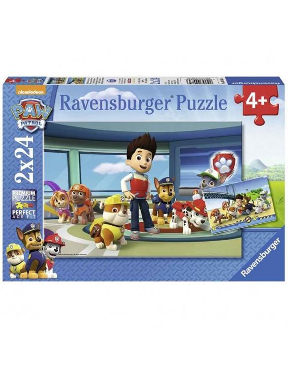 Patrulla Canina Puzzles 2x24pz 4005556090853