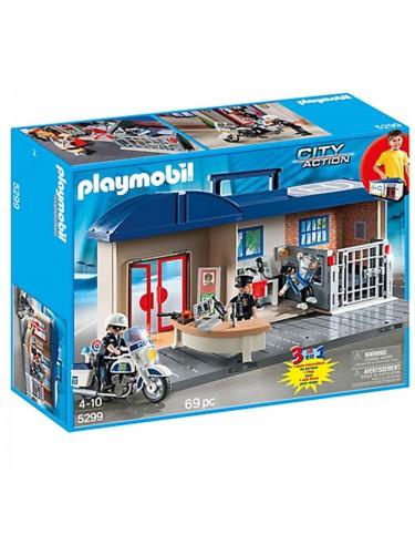 Playmobil Estación Policía Maletín 4008789052995