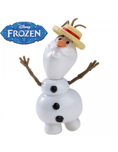 Frozen Olaf cantarín Mattel