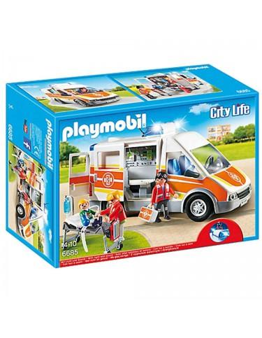 Playmobil Ambulancia con luz y sonidos 4008789066855