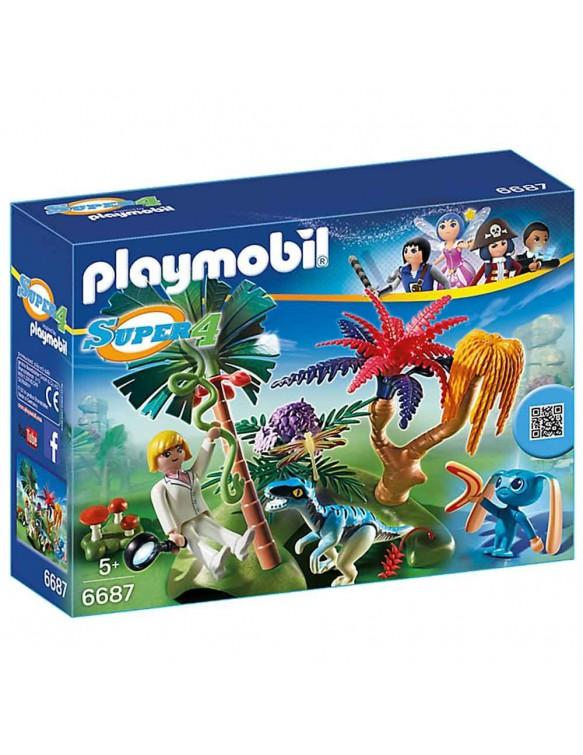 Playmobil Isla Perdida con Alien y Raptor 4008789066879