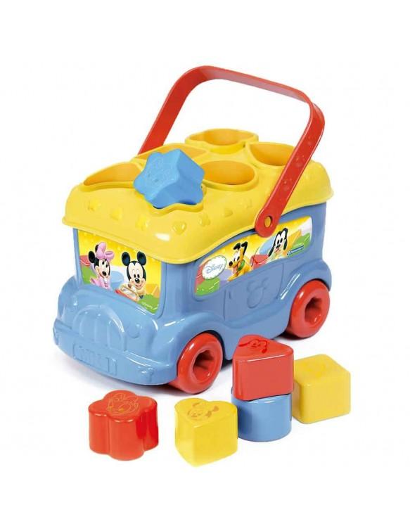 Autobús Formas y Colores Clementoni 8005125143955