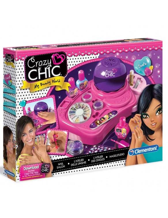Estudio Uñas Crazy Chic Clementoni 8005125157709
