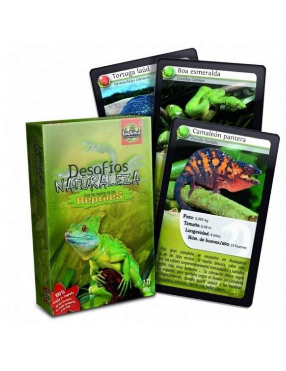 Juego Reptiles Desafíos 3569160281034
