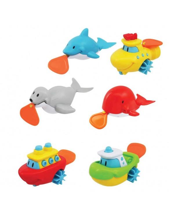Animales y Barcos para el Baño 4891622068990