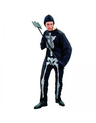 Disfraz Esqueleto Adulto T-52 4719484089253