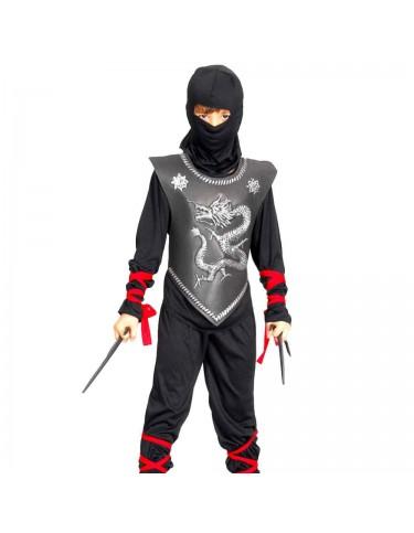 Disfraz Ninja Coraza Negro 4719484871742