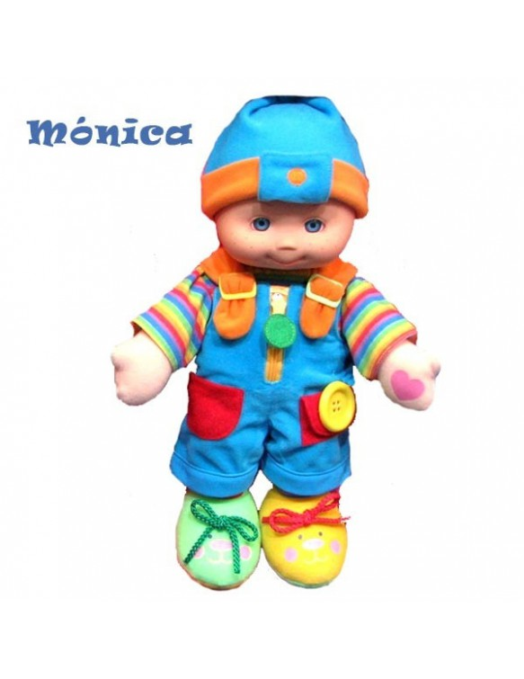 Mónica bebe botones. 42607656792