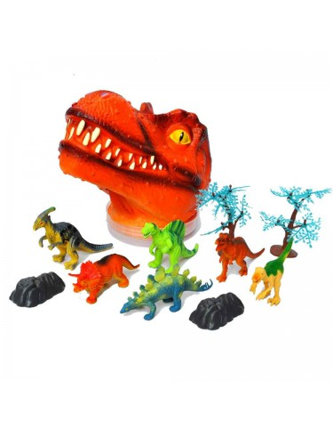 Cabeza Dinosaurio T-Rex Pequeña 6925654029426