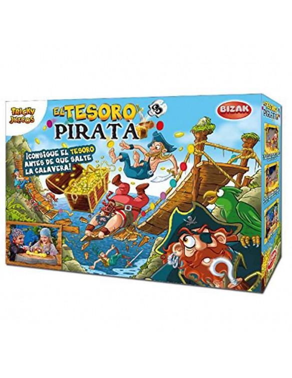Juego Tesoro Pirata Bizak 8432752012963