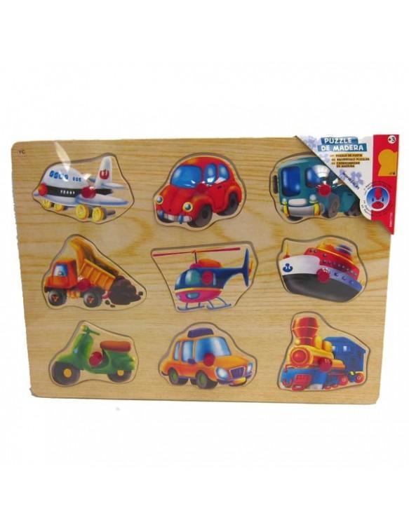 Puzzle de madera. 834162001106