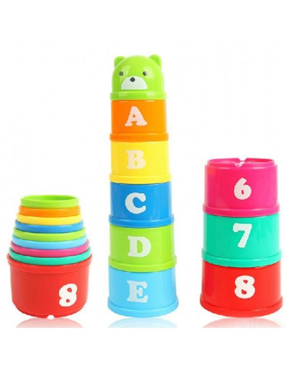 Tacitas Apilables Número y Letras 6931000101203