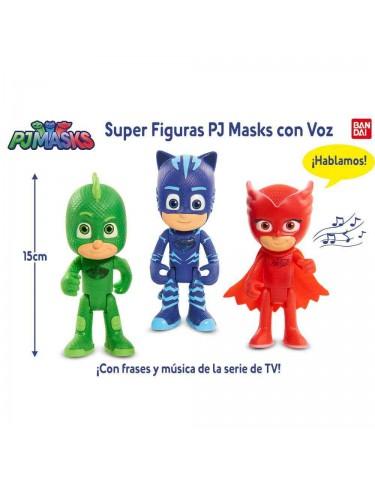 Pj Masks Super Figuras Con Voz