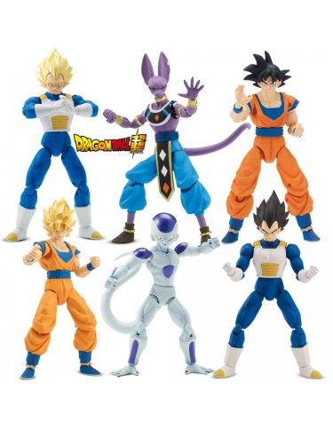 Dragon Ball Figuras Deluxe Super