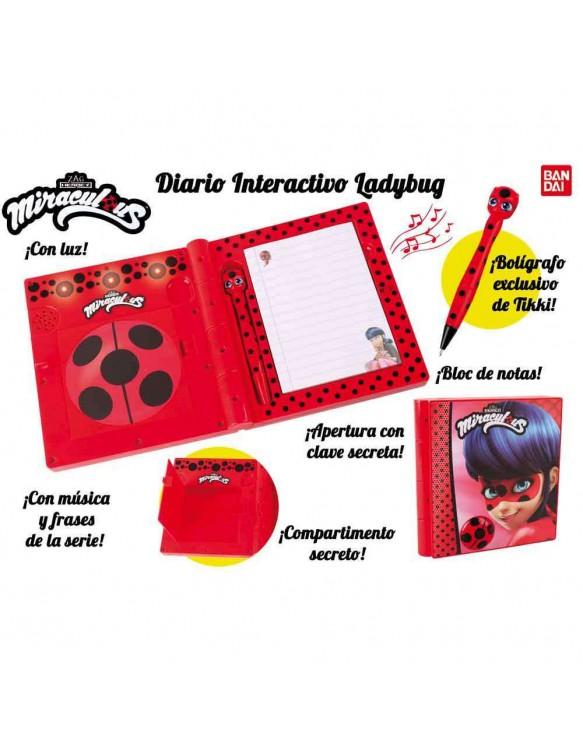Ladybug Diario Interactivo 3296580849635