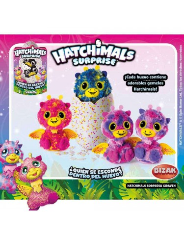 Hatchimals Sorpresa Giraven