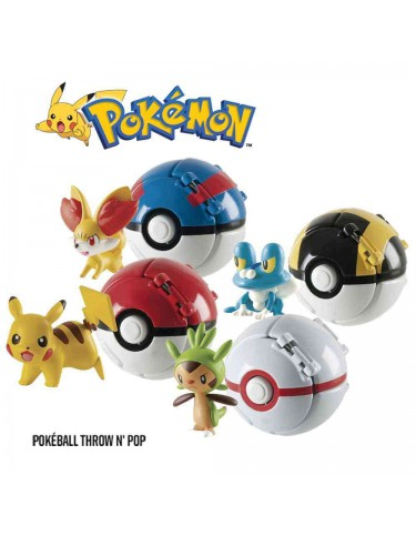 Pokeball Throw'N Pop