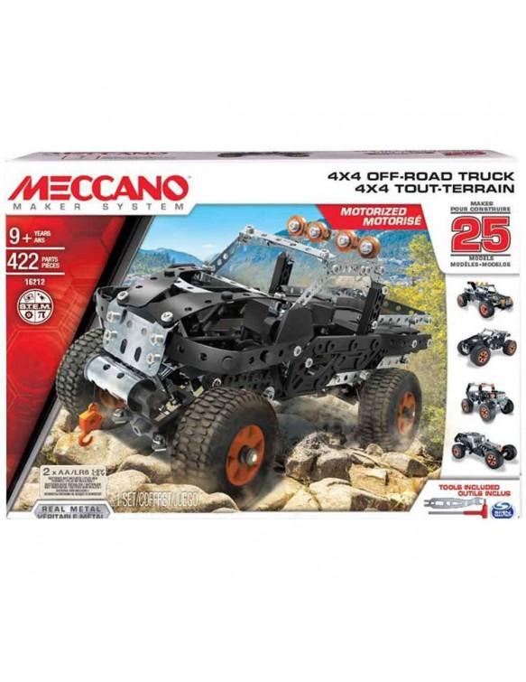 Meccano 25 4x4 Truck Bizak 8432752018101
