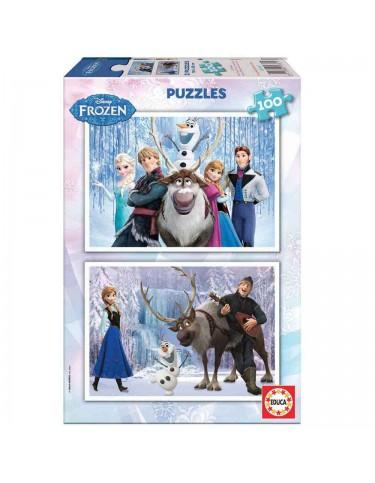 Frozen Puzzle 2x100pzz 8412668157675