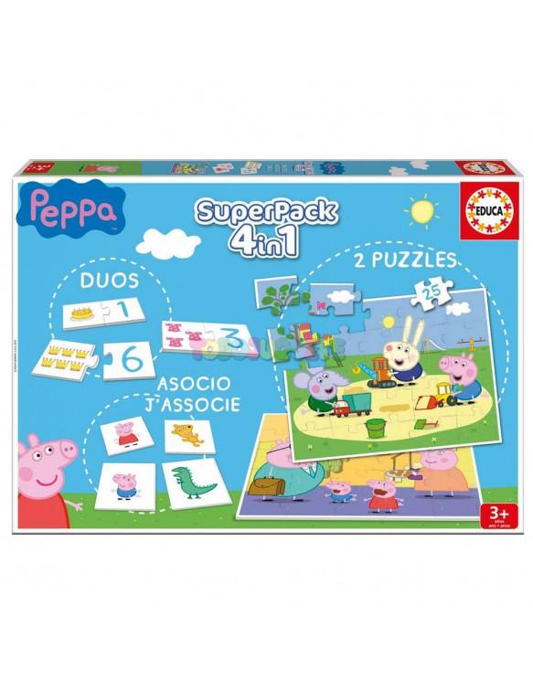 Puzzle Superpack Peppa Pig 8412668162297