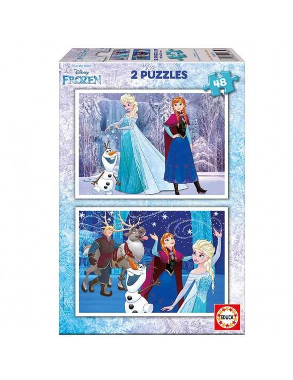 Frozen Puzzle 48pz 8412668168527