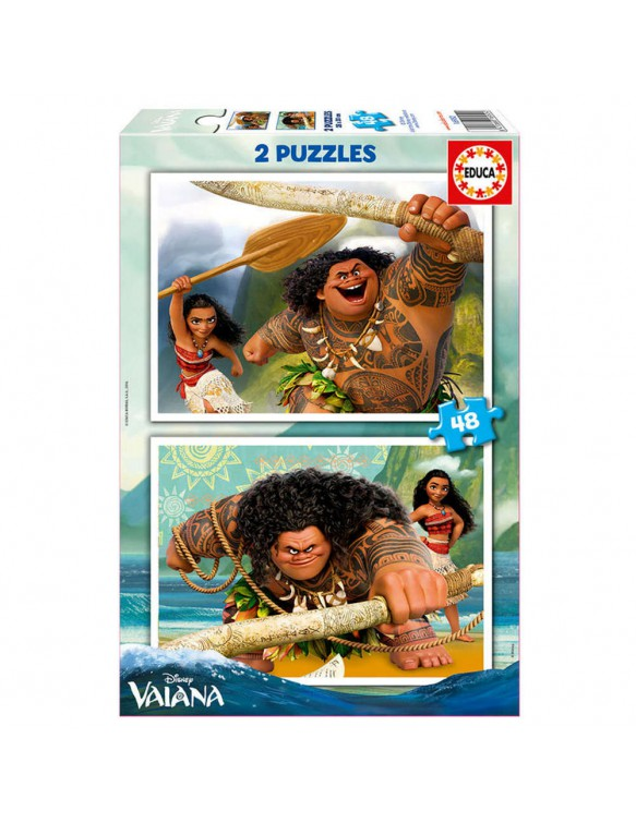 Vaiana Puzzle 2X48pz 8412668169524