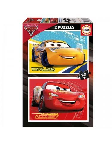 Cars 3 Puzzle 2x20pz.