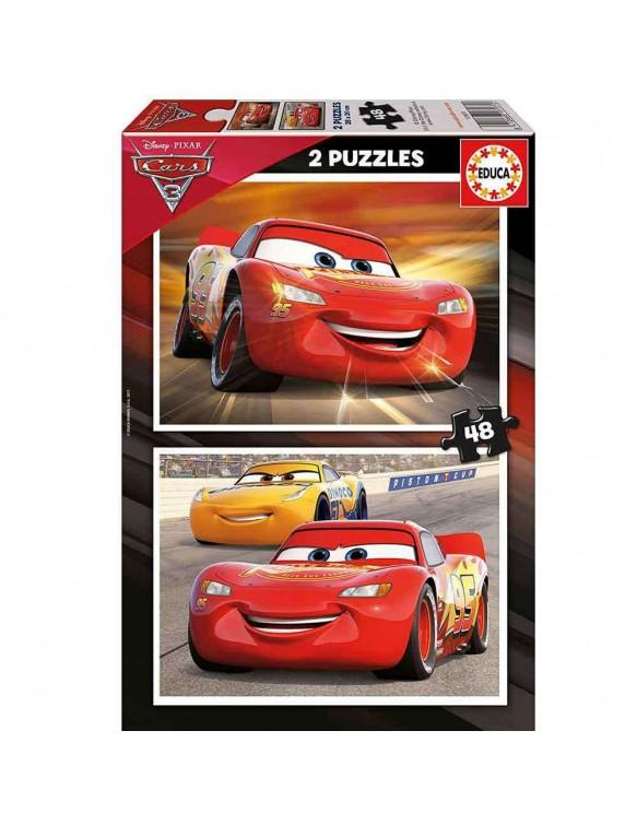 Cars Puzzle 2x48 8412668171770